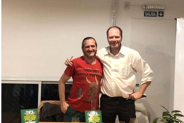 Ciencia versus Filosofía: el show de Diego Golombek y Darío Szeta