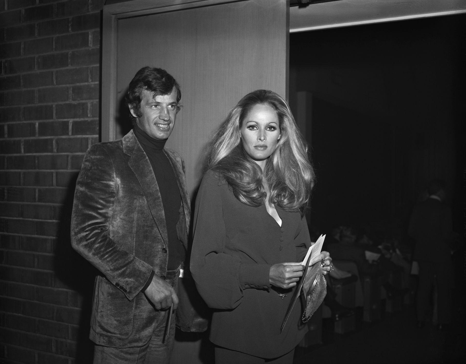 Jean Paul Belmondo y Ursula Andress, una pareja marcada por la estelaridad que terminó en un escándalo