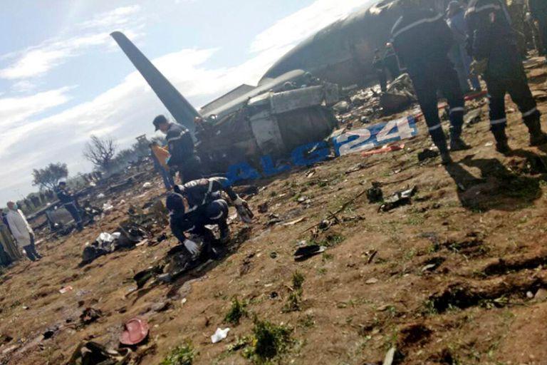 Los cuerpos fueron trasladados al hospital central del ejército