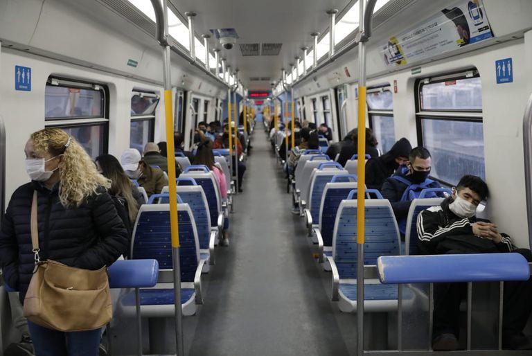 Coronavirus: como ayer, el tren Sarmiento deja de funcionar a las 10.30