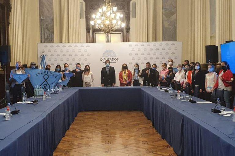 Sergio Massa se reunió con referentes de la Agrupación Provida