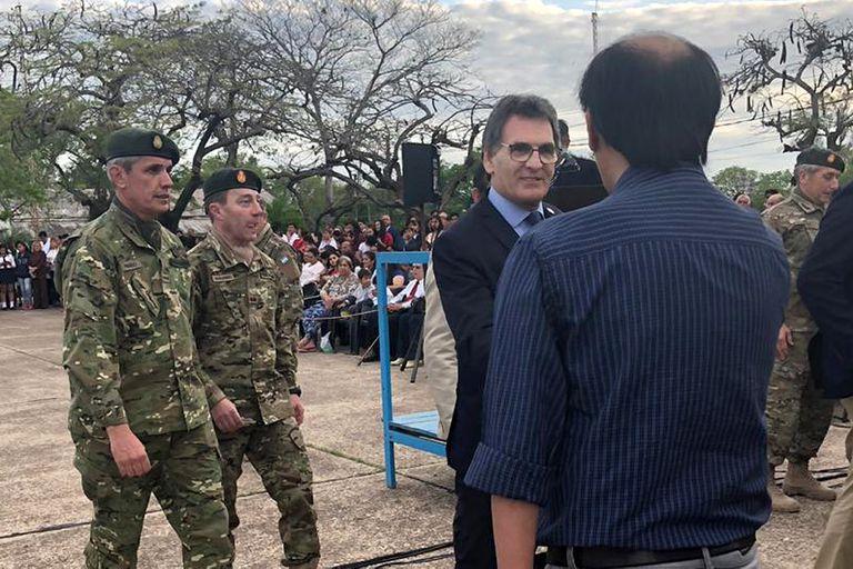 Avruj evocó junto al Ejército el ataque a un regimiento militar en Formosa
