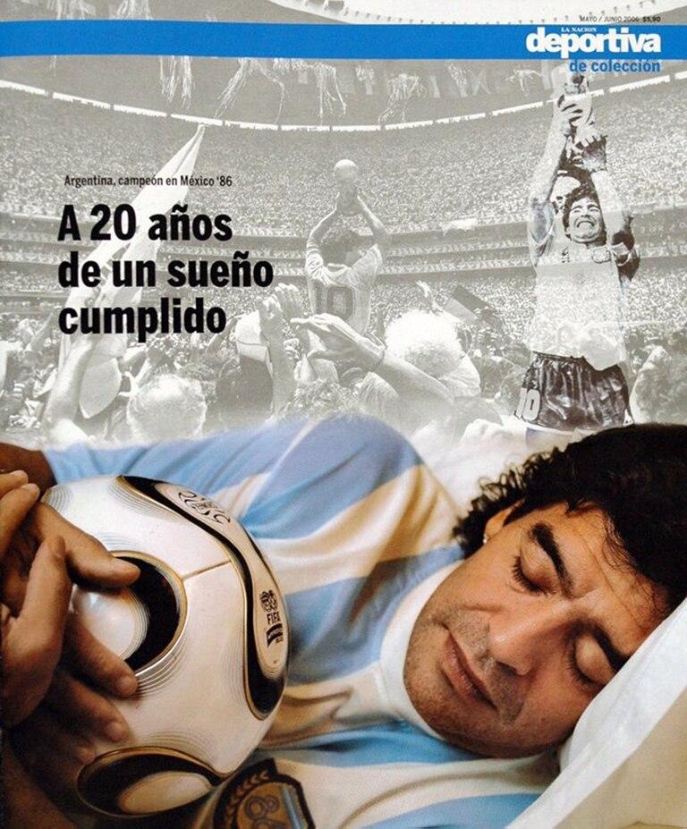 Un suplemento de colección de LA NACION: a veinte años de la conquista en México ´86, una producción especial con Diego Maradona.