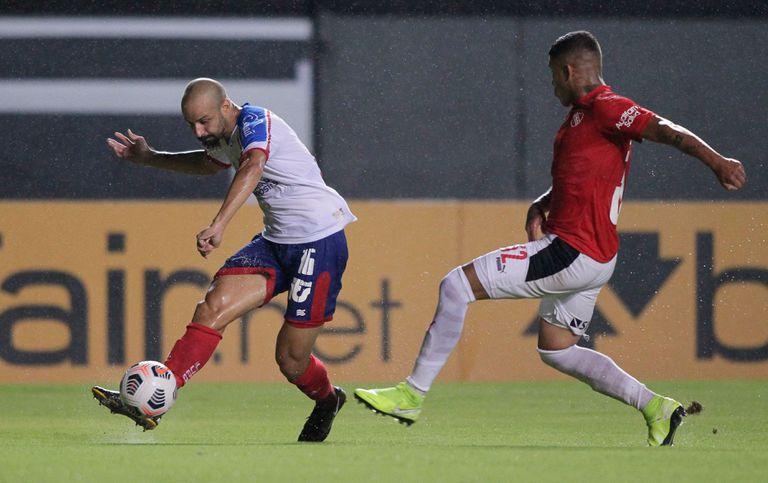 Empate en Brasil. Con Sosa como héroe, Independiente igualó ante Bahía