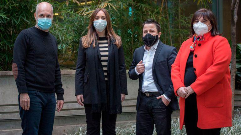 Larreta, Vidal, Tetaz y Oliveto, de cara a las PASO