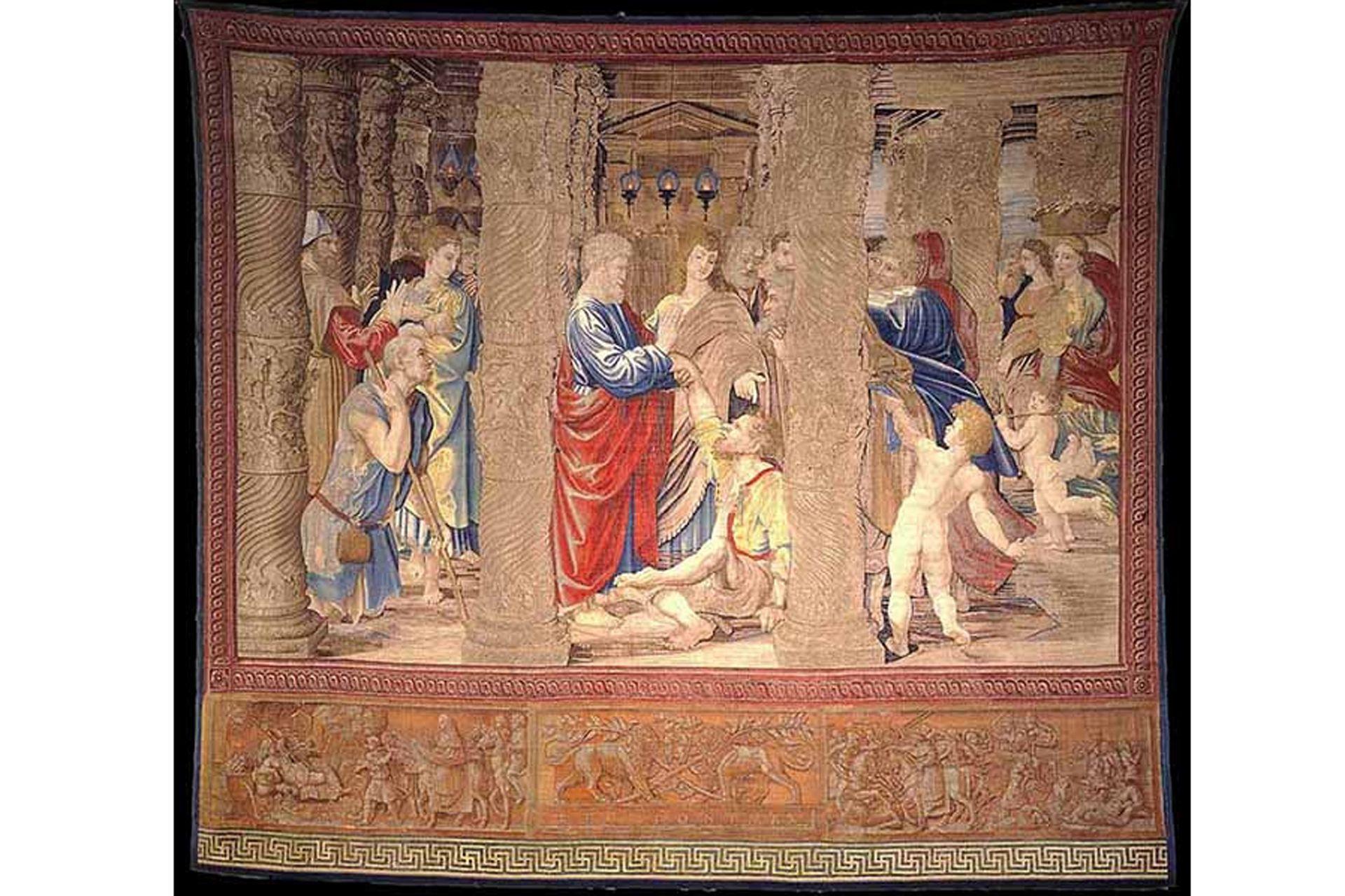 """La muestra se realiza en el inicio de las conmemoraciones por los 500 años de la muerte del autor de la célebre """"Escuela de Atenas""""."""