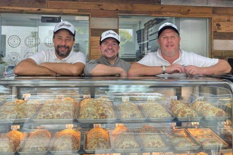 El equipo de The Empanadas busca ofrecer sabores argentinos con un toque innovador