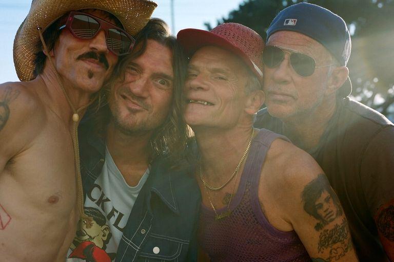 """Red Hot Chili Peppers anunció que tiene """"casi terminado"""" su nuevo álbum"""