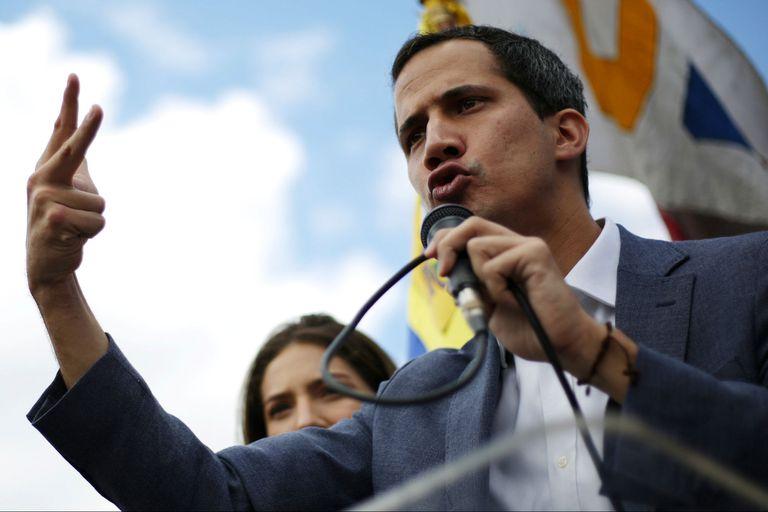 Guaidó, presidente de la Asamblea Nacional