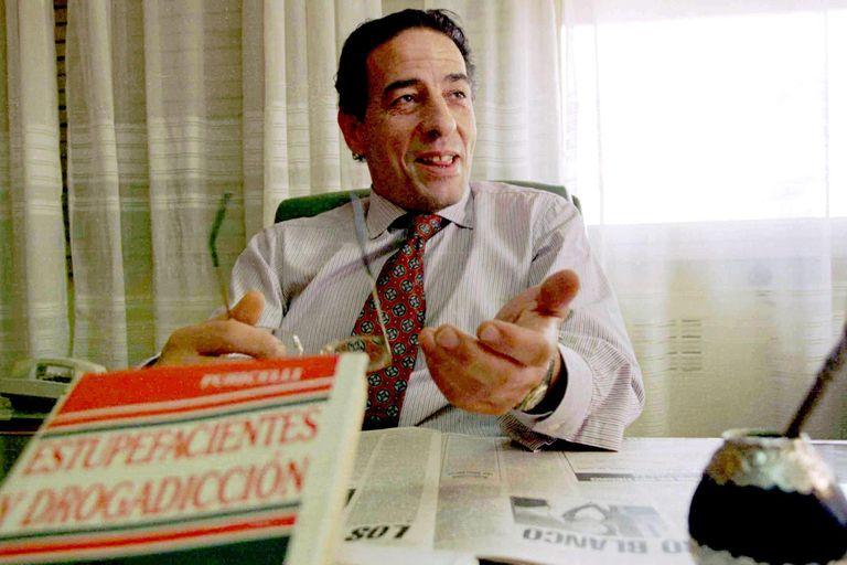 Bernasconi, en el Juzgado Federal de Dolores, cuando todavía dirigía la causa Cóppola