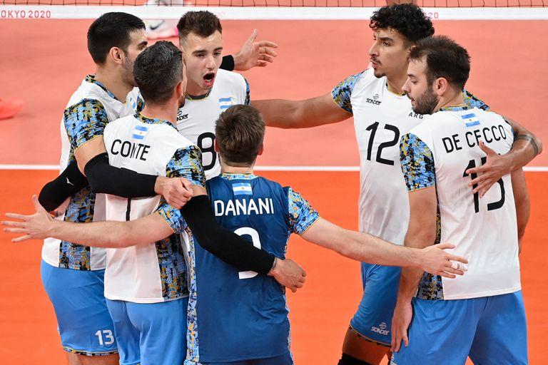 El vóleibol argentino quiere dar otro golpe contra Francia y llegar a la final olímpica