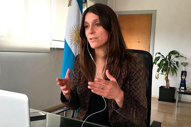 Inés Arrondo, secretaria de Deportes de la Nación, describió los beneficios del anuncio