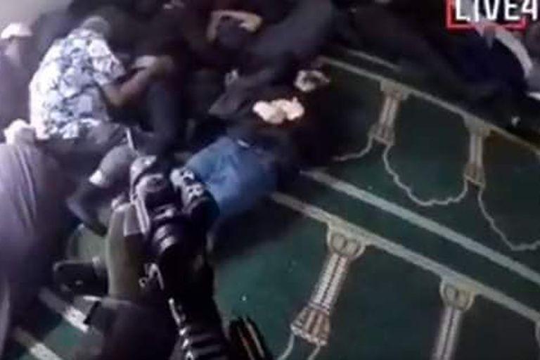 Captura de la transmisión del ataque
