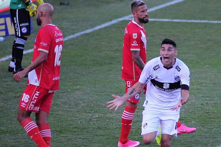 Argentinos vs Platense: gol de Platense