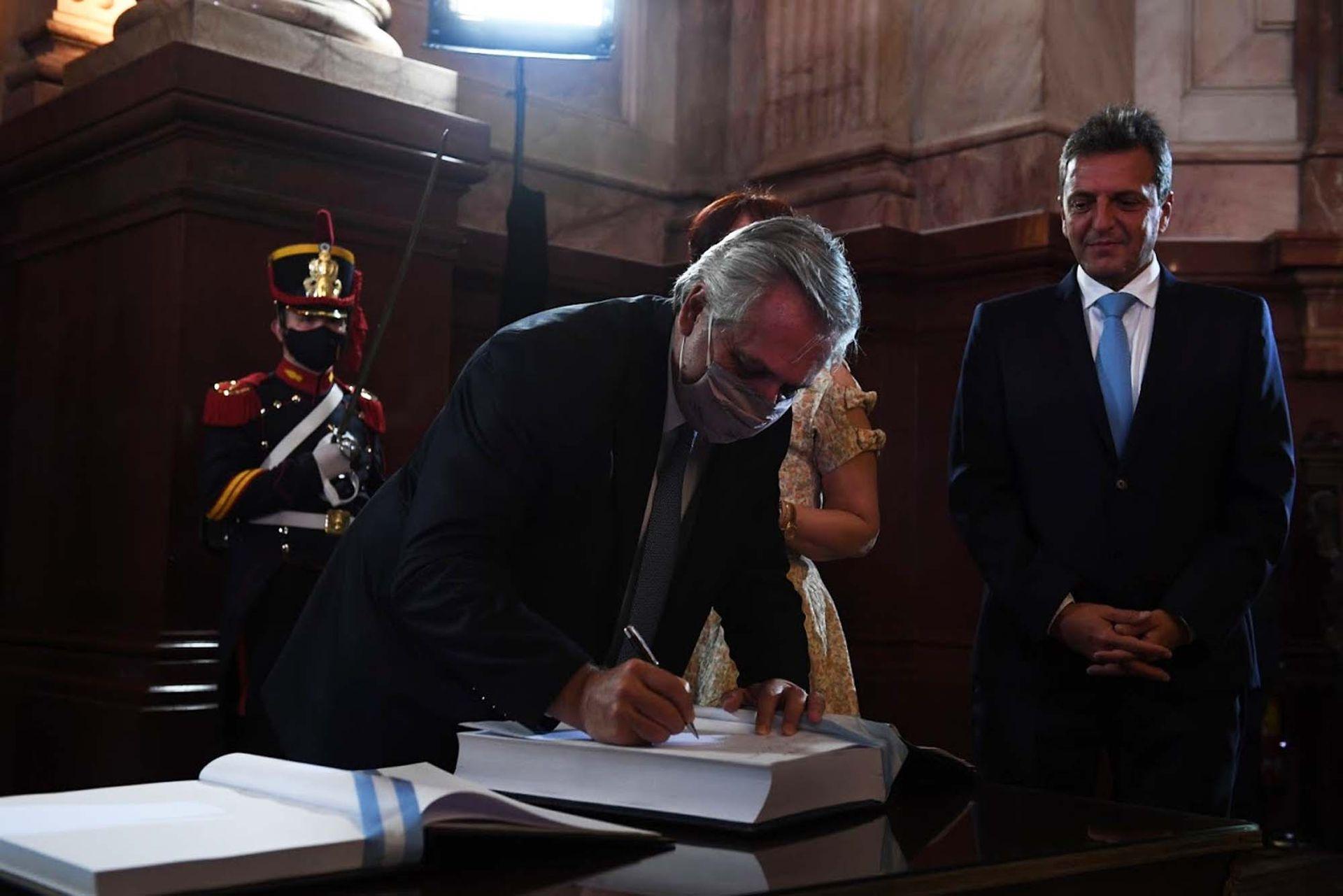 El Presidente Alberto Fernández abre el año legislativo