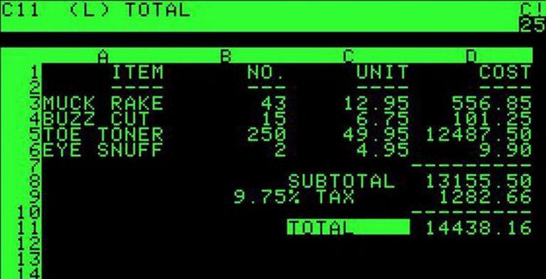 VisiCalc mostró el camino, y sus obstáculos
