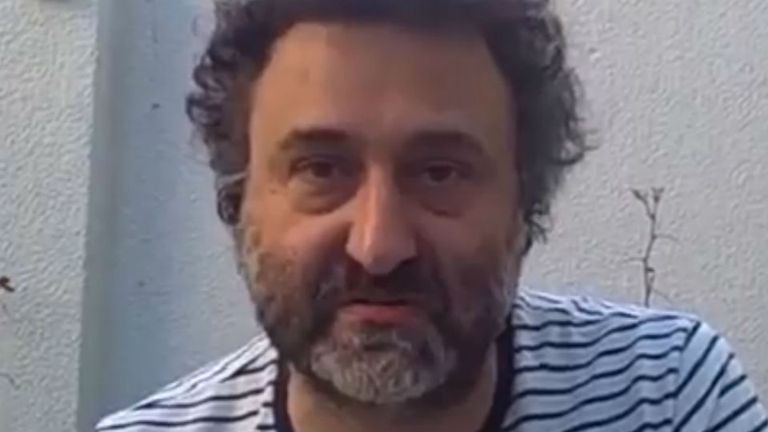 El filósofo Alejandro Rozitchner
