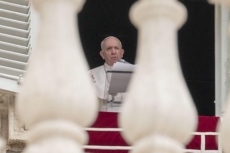 El papa Francisco en la Ciudad del Vaticano el 20 de junio del 2021 (Foto AP/Andrew Medichini)