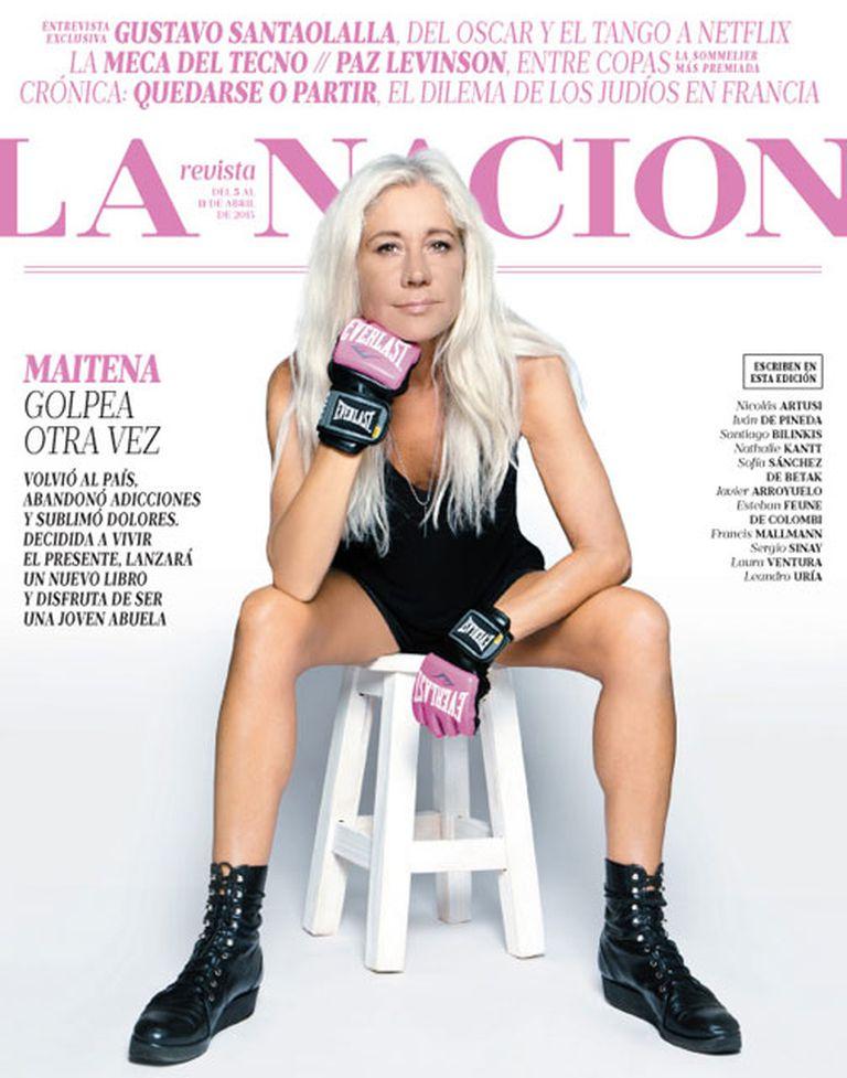 Maitena, este domingo, en LA NACION Revista