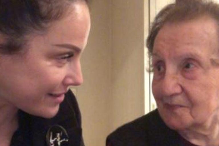 La abuela de Connie Ansaldi sobrevivió al Holocausto y es furor por su historia