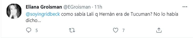 """Lali Espósito """"adivinó"""" que un participante era de Tucumán y las redes estallaron"""