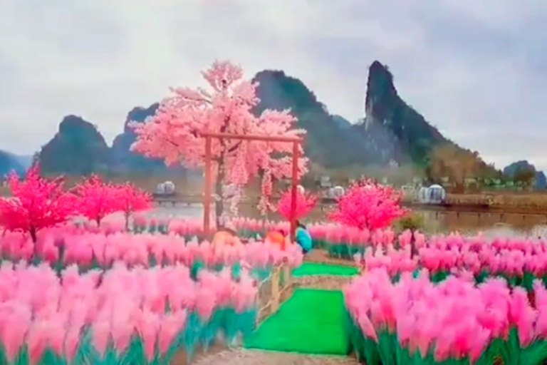 La isla que construyó Xu para reconquistar a su amor