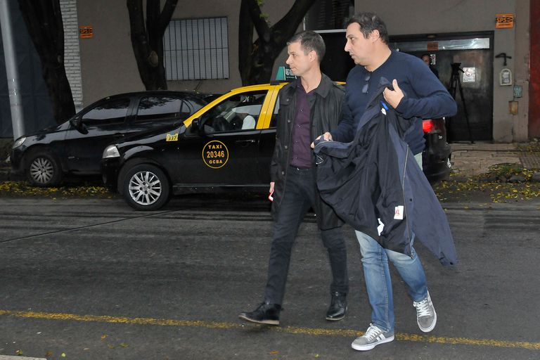 Otro de sus históricos compañeros de eltrece, Marcelo Fiasche, quien llegó junto al productor ejecutivo del noticiero del canal, Rubén García