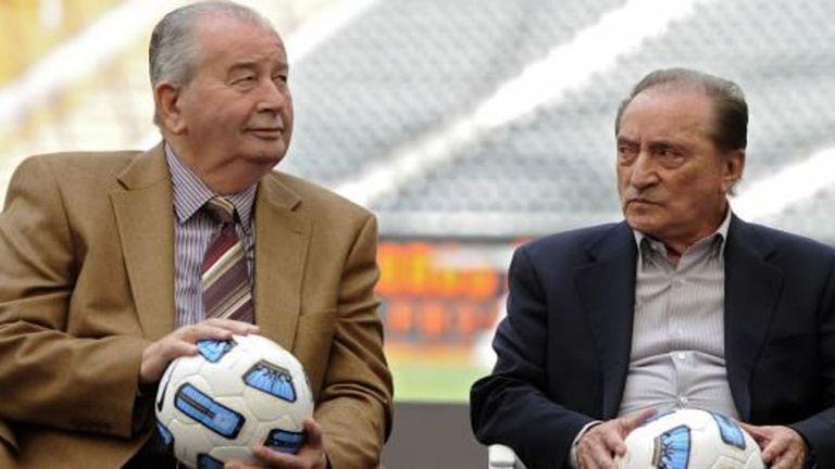 Julio Grondona y su aliado uruguayo Eugenio Figueredo