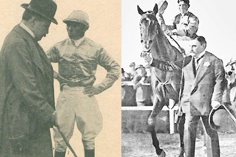 En los diarios salían Diego Alvear, el jinete y Botafogo