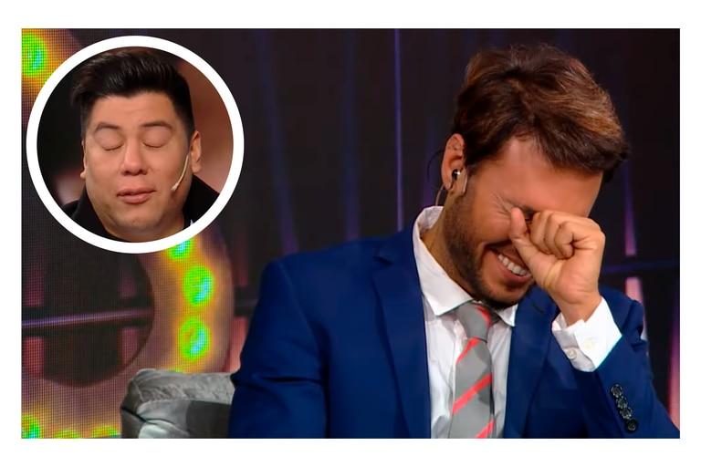 Tomás Dente se tentó por el llanto del fan de Wanda Nara