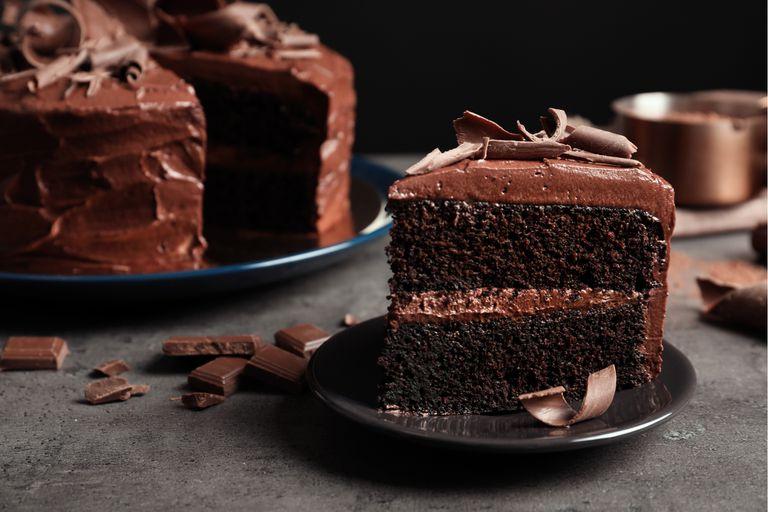 Torta de chocolate otoñal