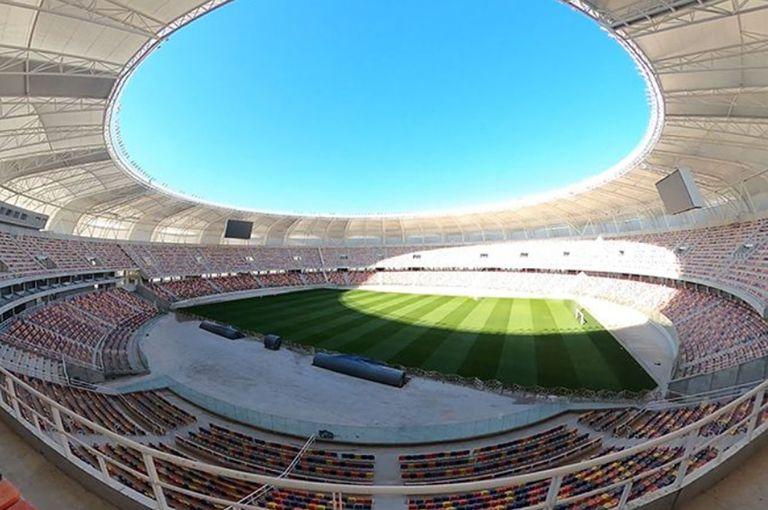 Una vista del nuevo estadio de Santiago del Estero.