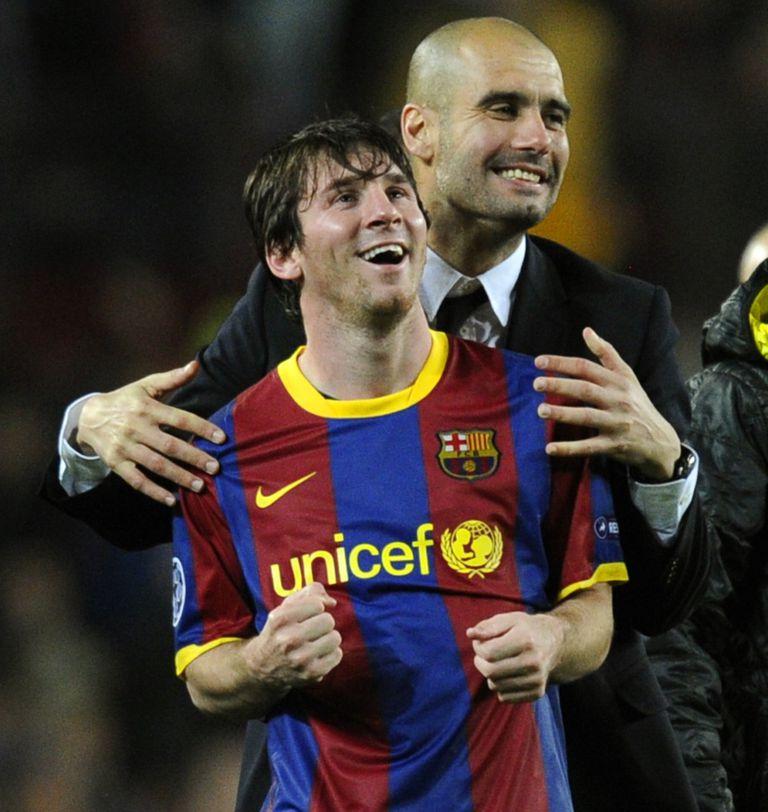 Guardiola y Messi: el DT fue clave para cambiarle la posición y potenciar su juego