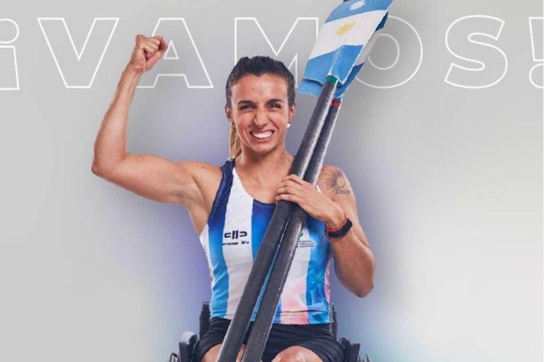 La remera Brenda Sardón, debutante paralímpica