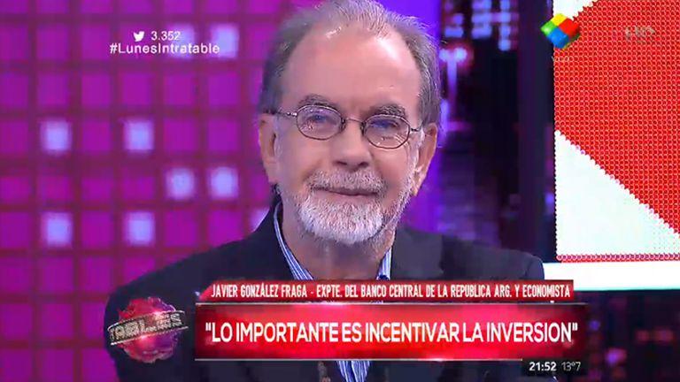 El ex presidente del Banco Central y economista Javier González Fraga