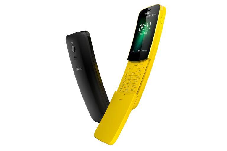 El Nokia 8110 en versión 4G