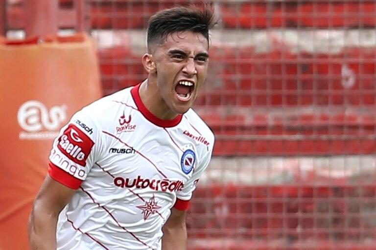 Nicolás González hizo el único gol del encuentro a los 27 minutos del primer tiempo