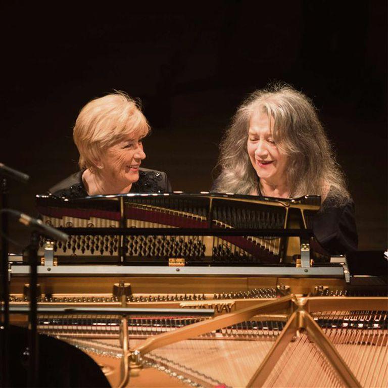 Argerich y Reca: la aventura de dos pianos que quedará para la historia