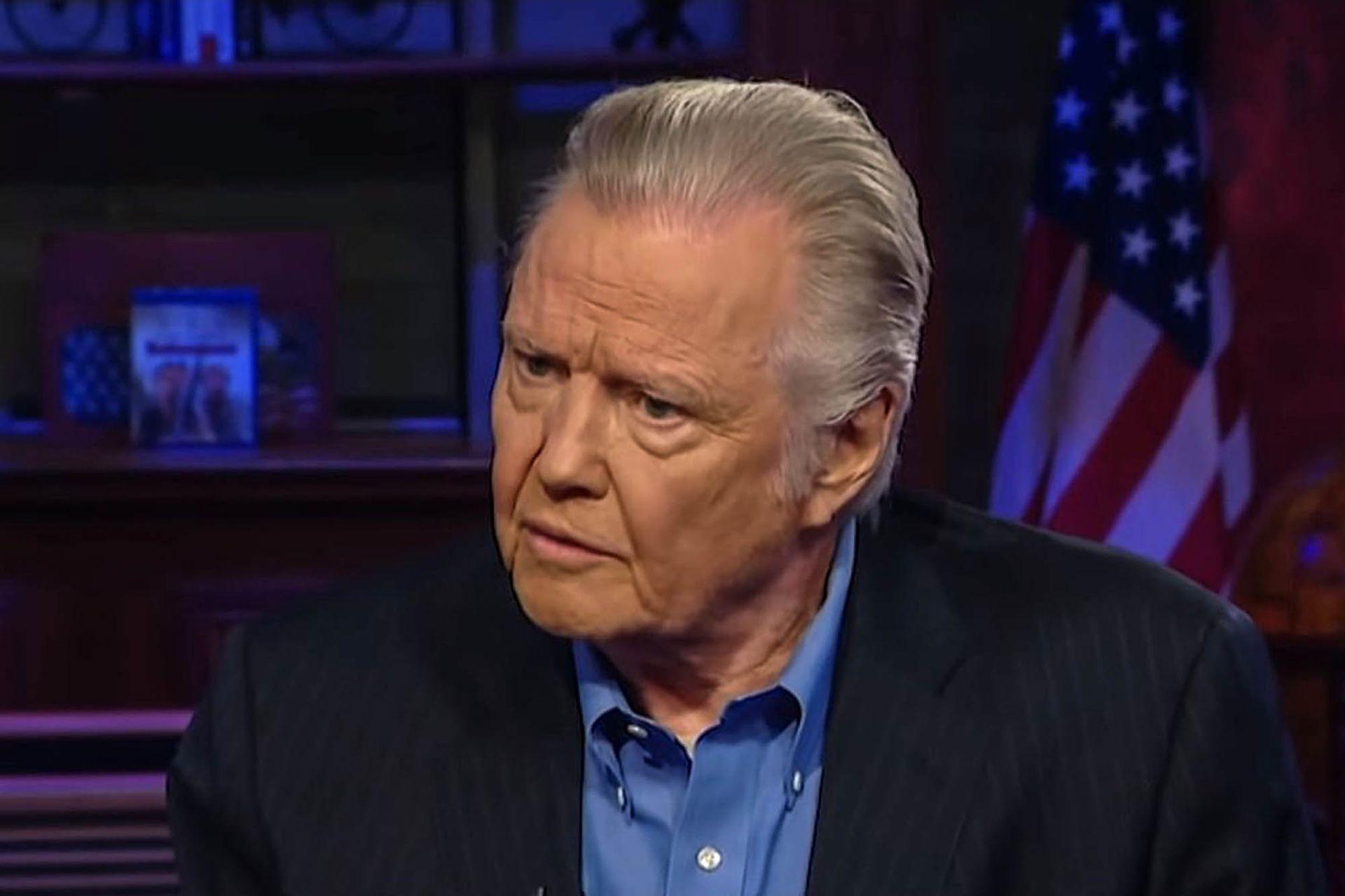 Jon Voight afirmó en la cadena oficialista Fox News que Trump era el mejor presidente desde Lincoln