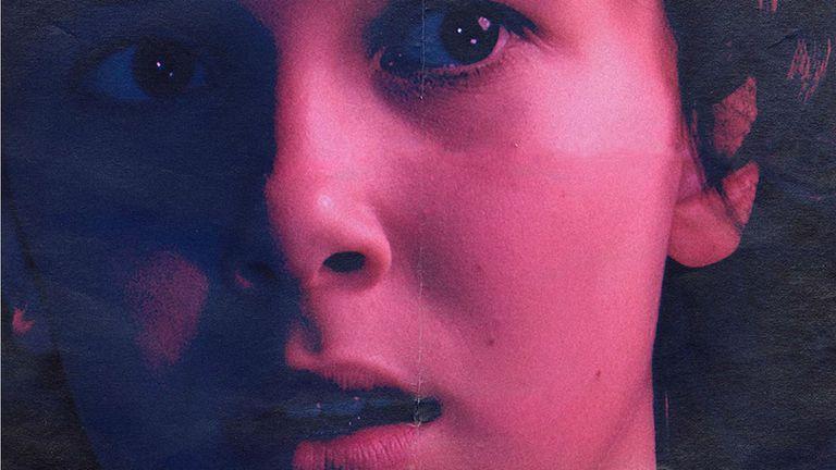 Millie Bobby Brown como Eleven en los flamantes afiches