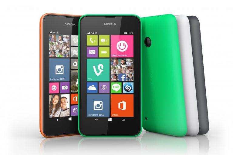 El Lumia 530 viene con carcasas de varios colores
