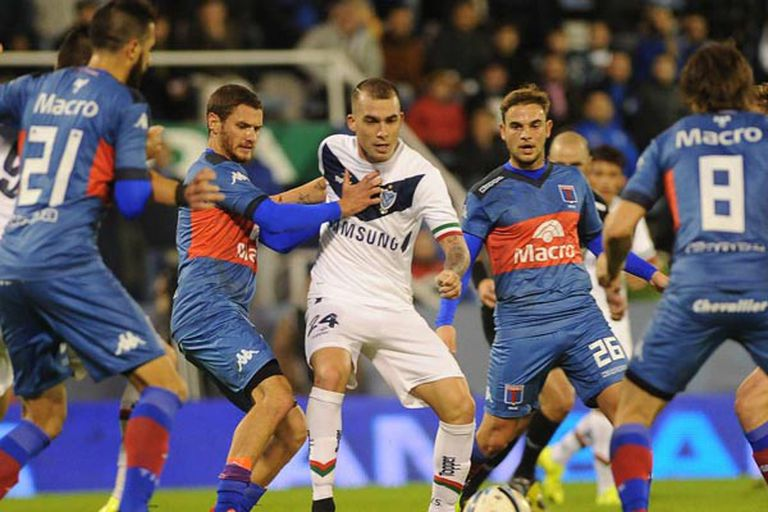 Vélez se lo empató a Tigre sobre el final