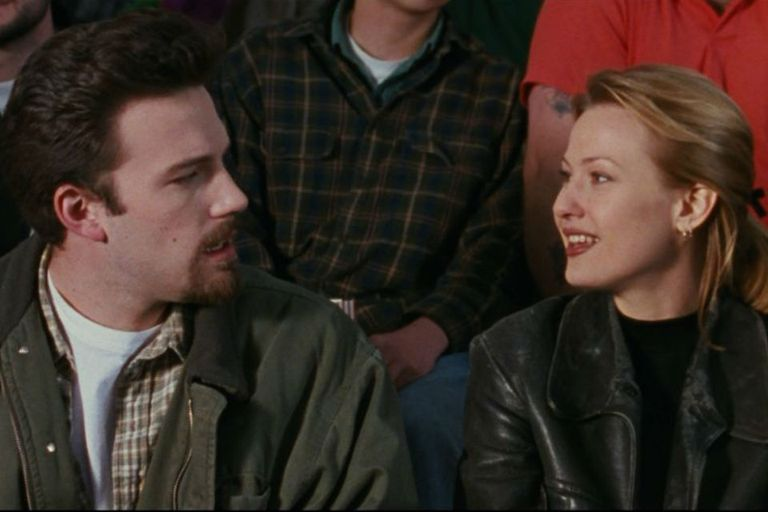 Ben Affleck y Joey Lauren Adams en La otra cara del amor, lo mejor de Kevin Smith