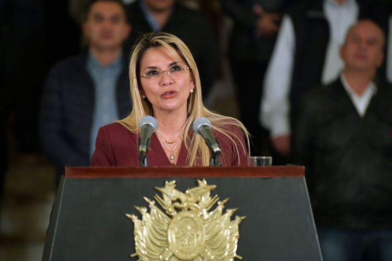 """Bolivia: en la ONU, Áñez denunció el """"acoso abusivo del gobierno kirchnerista"""""""