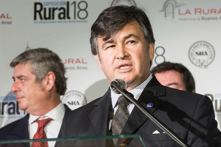 Daniel Pelegrina, titular de la Sociedad Rural Argentina (SRA)