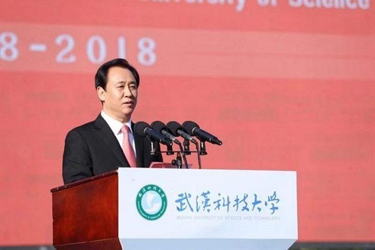 30-08-2021 El presidente del Grupo Evergrande, Hui Ka Yan. POLITICA EVERGRANDE