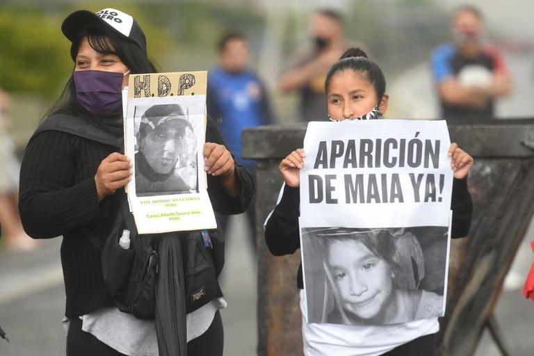 Tras un arresto, sigue la desesperada búsqueda de Maia - LA NACION