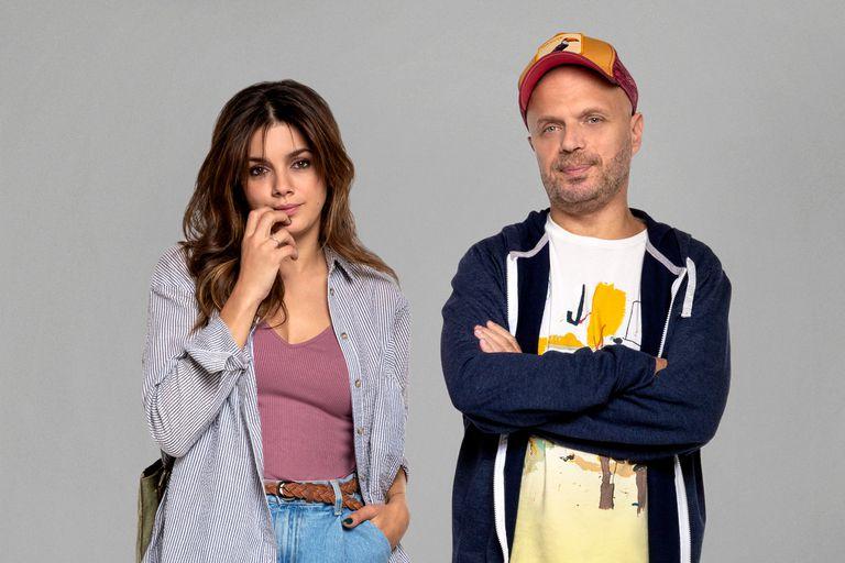 Natalie Pérez y Sebastián Wainraich, la pareja protagónica de Casi feliz