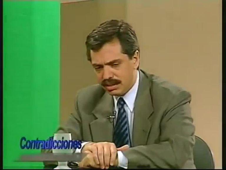 """Cuando Alberto Fernández criticaba el gasto público y pedía un Estado """"chico y fuerte"""""""