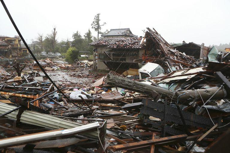 """Estiman que Hagibis será el primer tifón calificado de """"muy potente"""" que golpee la isla principal de Honshu desde 1991."""